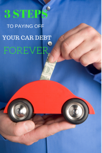3 STEPS TO PAYING OFF YOUR CAR DEBT