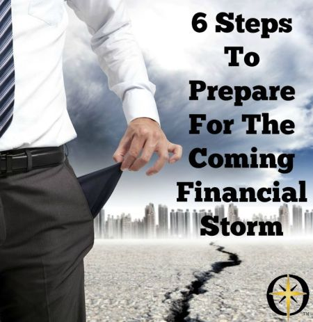 6 steps to prepare for financial storm