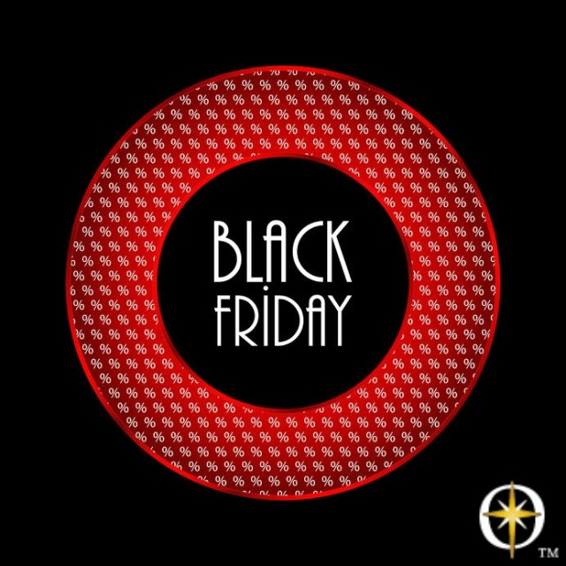 Black Friday with logo